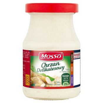 Mosso Chrzan delikatesowy 170 g