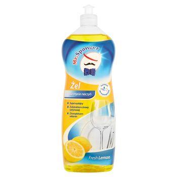Mr. Sponger Fresh Lemon Żel do mycia naczyń 1 l