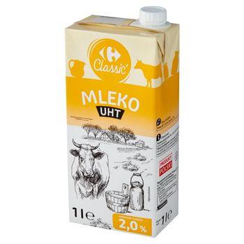 Carrefour Classic Mleko UHT 2,0% 1 l