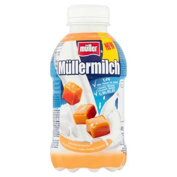 Müller Müllermilch Napój mleczny o smaku słonego karmelu 400 g