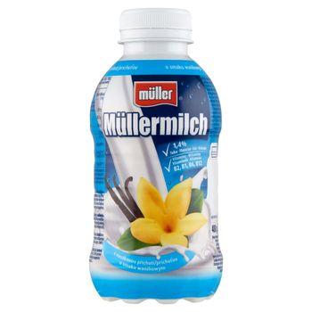 Müller Müllermilch Napój mleczny o smaku waniliowym 400 g