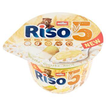 Müller Riso 5 ziaren Gruszka Mleczny deser ryżowy 175 g