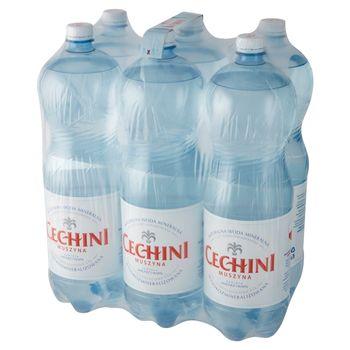 Muszyna Cechini Naturalna woda mineralna wysokozmineralizowana niskonasycona 6 x 2 l