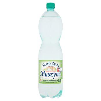 Muszyna Skarb Życia Naturalna woda mineralna wysokozmineralizowana gazowana 1,5 l