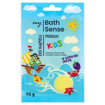 My Bath Sense Kids Perełki do kąpieli o zapachu jeżyn 75 g