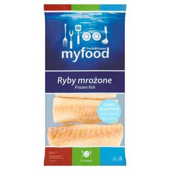 MyFood Ryby mrożone Dorsz atlantycki polędwiczki bez skóry 450 g