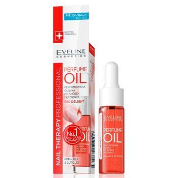 Nail Theraphy Professional Perfumowana oliwka do skórek i paznokci, Red Deight