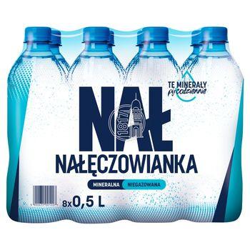 Nałęczowianka Naturalna woda mineralna niegazowana 8 x 0,5 l