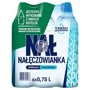 Nałęczowianka Sport Naturalna woda mineralna niegazowana 6 x 0,75 l