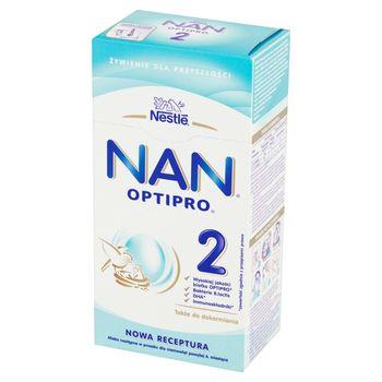 NAN OPTIPRO 2 Mleko następne w proszku dla niemowląt powyżej 6. miesiąca 350 g