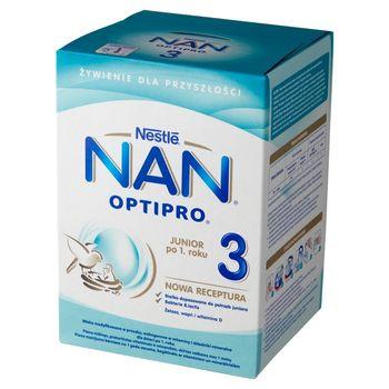 NAN OPTIPRO 3 Mleko modyfikowane w proszku dla dzieci po 1. roku 800 g (2 x 400 g)