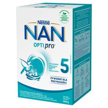 NAN OPTIPRO 5 Mleko modyfikowane dla dzieci po 2,5 roku 800 g (2 x 400 g)