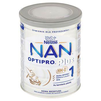NAN OPTIPRO Plus 1 HM-O Mleko początkowe w proszku dla niemowląt od urodzenia 800 g