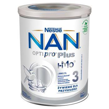 NAN OPTIPRO Plus 3 HMO Mleko modyfikowane dla dzieci po 1. roku 800 g