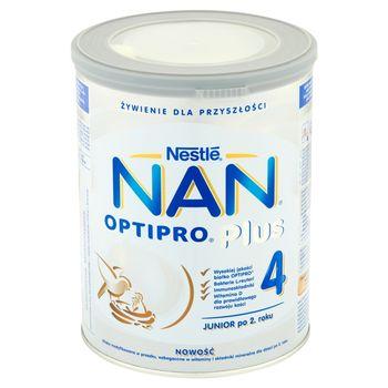 NAN OPTIPRO Plus 4 Mleko modyfikowane w proszku dla dzieci po 2. roku 800 g