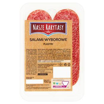 Nasze Rarytasy Salami wyborowe plastry 100 g