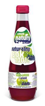 Naturalny Sok 100% - Sok z jabłek i aronii 300 ml