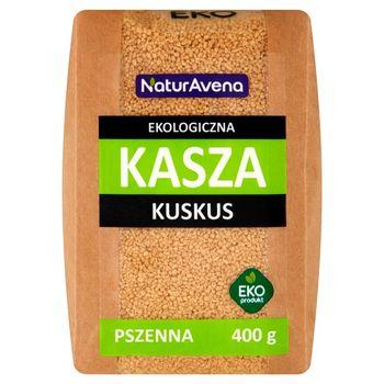 NaturAvena Ekologiczna kasza kuskus pszenna 400 g