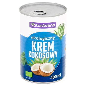 NaturAvena Ekologiczny krem kokosowy 400 ml