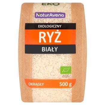 NaturAvena Ekologiczny ryż biały okrągły 500 g