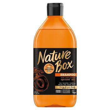 Nature Box Szampon do włosów z olejem z moreli 385 ml