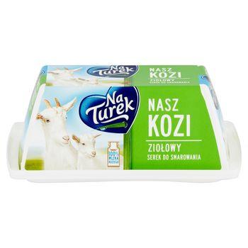 NaTurek Nasz Kozi Serek do smarowania ziołowy 150 g