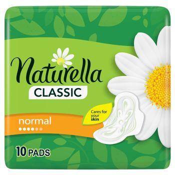 Naturella Classic Normal Camomile Podpaski ze skrzydełkami x10