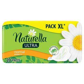 Naturella Ultra Normal Camomile Podpaski zeskrzydełkami x20