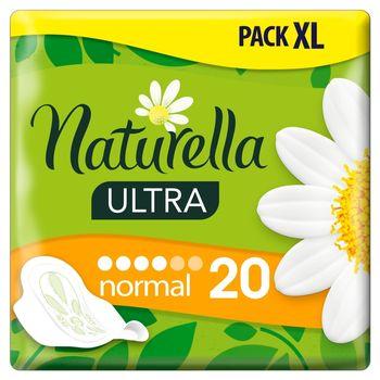 Naturella Ultra Normal Podpaski zeskrzydełkami x20