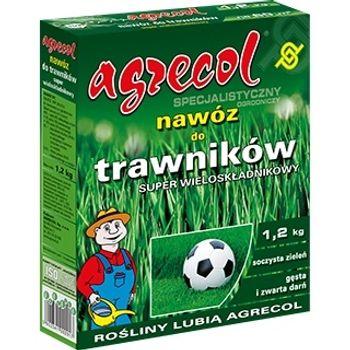 Nawóz granulowany AGRECOL Nawóz do trawników - Super wieloskładnikowy