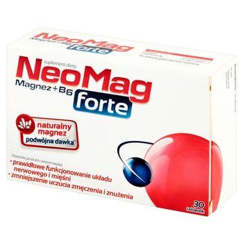 NeoMag forte Suplement diety 30 sztuk