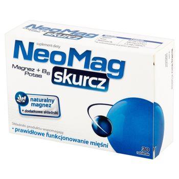 NeoMag skurcz Suplement diety 30 sztuk