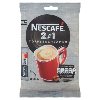 Nescafé 2in1 Coffee & Creamer Rozpuszczalny napój kawowy 80 g (10 x 8 g)