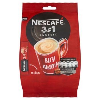 Nescafé 3in1 Classic Rozpuszczalny napój kawowy 165 g (10 x 16,5 g)