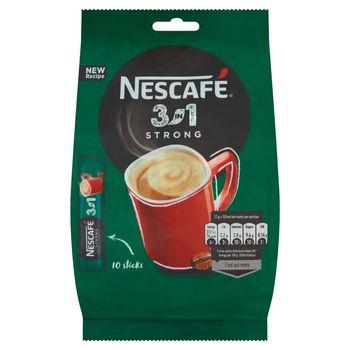 Nescafé 3in1 Strong Rozpuszczalny napój kawowy 170 g (10 x 17 g)