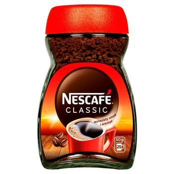 Nescafé Classic Kawa rozpuszczalna 50 g