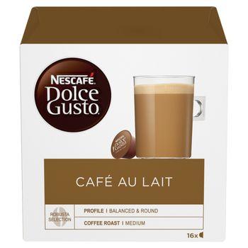 Nescafé Dolce Gusto Café au Lait Kawa w kapsułkach 160 g (16 x 10 g)