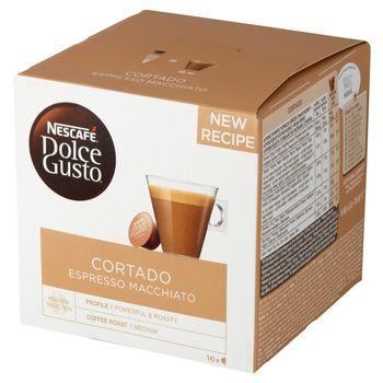 Nescafé Dolce Gusto Cortado Espresso Macchiato Kawa w kapsułkach 100,8 g (16 x 6,3 g)