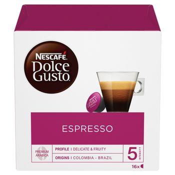 Nescafé Dolce Gusto Espresso Kawa w kapsułkach 88 g (16 x 5,5 g)