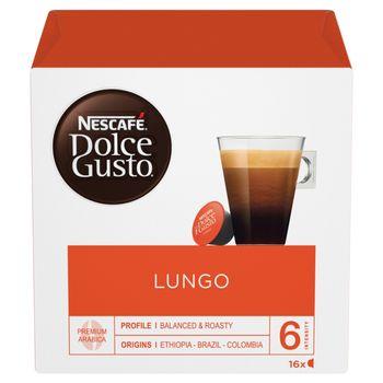 Nescafé Dolce Gusto Lungo Kawa w kapsułkach 104 g (16 x 6,5 g)