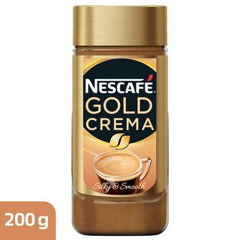 Nescafé Gold Crema Kawa rozpuszczalna 200 g
