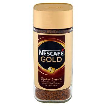Nescafé Gold Rich & Smooth Kawa rozpuszczalna 100 g