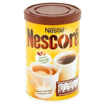 Nescoré Kawa rozpuszczalna z oligofruktozą i cykorią 100 g