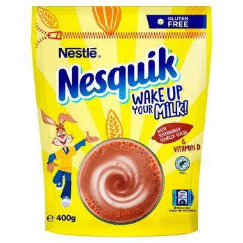 Nesquik Rozpuszczalny napój kakaowy z dodatkiem witamin 400 g
