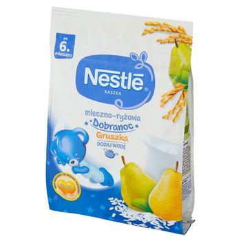 Nestlé Kaszka mleczno-ryżowa gruszka po 6 miesiącu 230 g