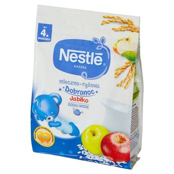 Nestlé Kaszka mleczno-ryżowa jabłko po 4 miesiącu 230 g