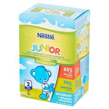 Nestlé Junior Mleko modyfikowane dla dzieci od 2. roku życia o smaku naturalnym 700 g (2 x 350 g)