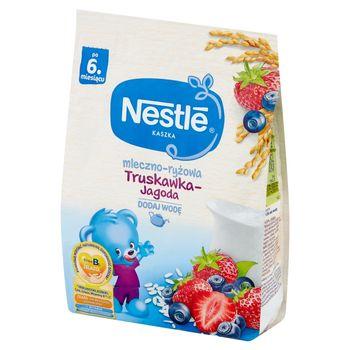 Nestlé Kaszka mleczno-ryżowa truskawka-jagoda po 6 miesiącu 230 g