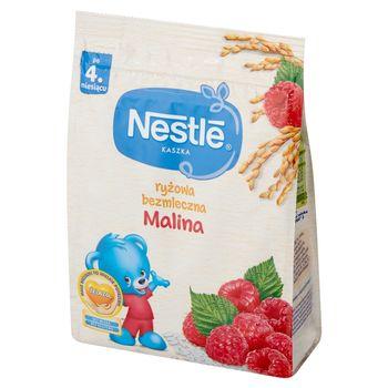 Nestlé Kaszka ryżowa bezmleczna malina po 4. miesiącu 180 g