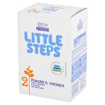 Nestlé LITTLE STEPS 2 Mleko następne w proszku dla niemowląt powyżej 6. miesiąca 600 g (2 x 300 g)